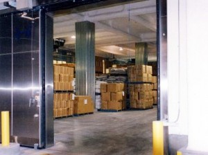 Warehouse for fixed temperature fumction